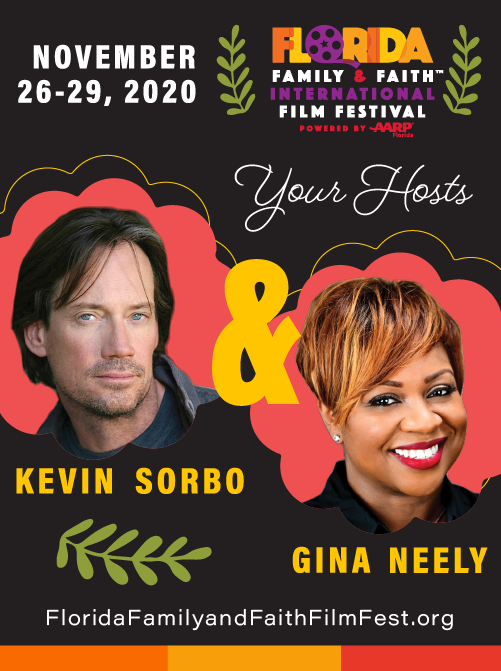 2020 Festival Hosts, Kevin Sorbo and Gina Neely