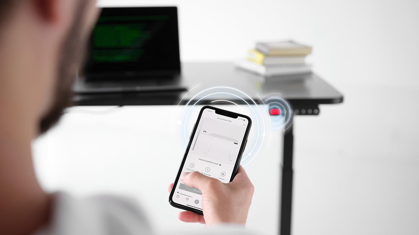 Control Your Desk Wirelessly