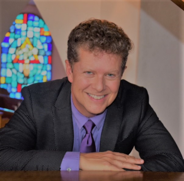 Timothy Brumfield, Music Director at St. Gregory's Episcopal Church.