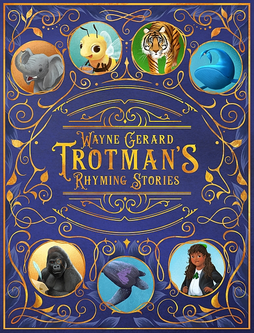 Wayne Gerard Trotman's Rhyming Stories, Cover